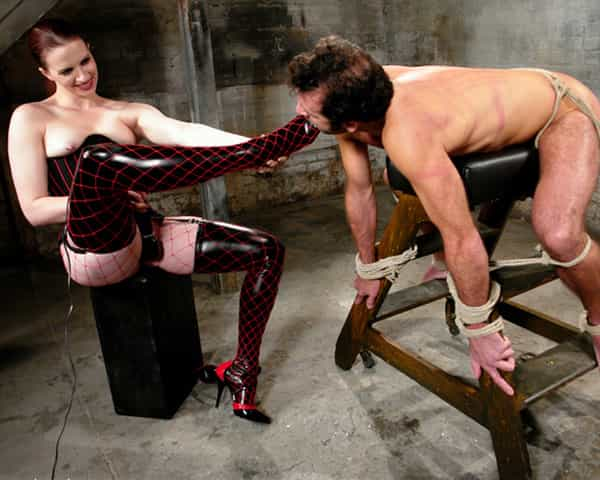 A Dungeon Domination Session with Mistress? Only if you're worthy!
